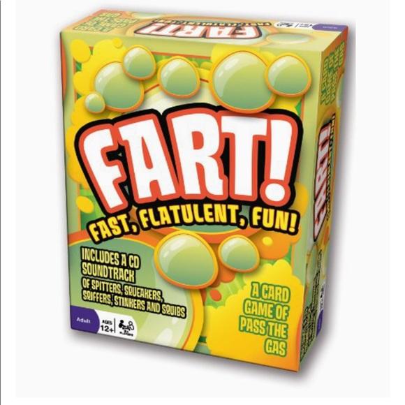 NWT Fart Fast Flatulent Fun Game